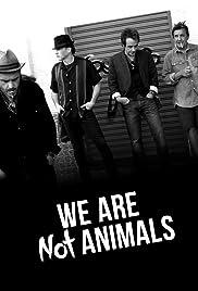 No somos animales Poster