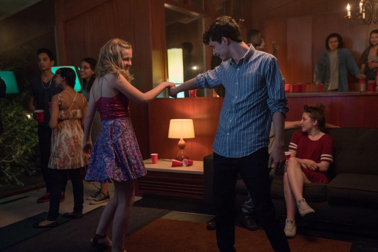 Angourie Rice and Lucas Jade Zumann in Every Day (2018)