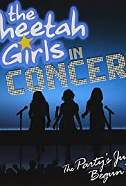 The Cheetah Girls in Concert: The Party's Just Begun Tour Poster