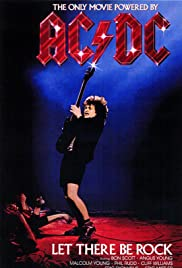 AC/DC: Let There Be Rock (1980) Poster - Movie Forum, Cast, Reviews
