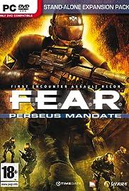F.E.A.R. Perseus Mandate Poster