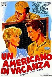 Un americano in vacanza Poster