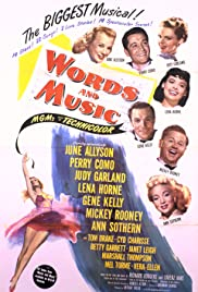 Words and Music (1948) Poster - Movie Forum, Cast, Reviews