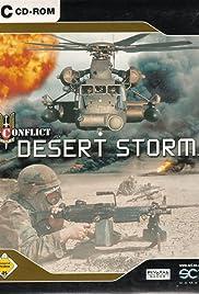 Conflict Desert Storm Poster