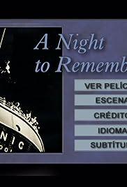 La última noche del Titanic Poster