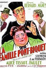 La famille Pont-Biquet Poster