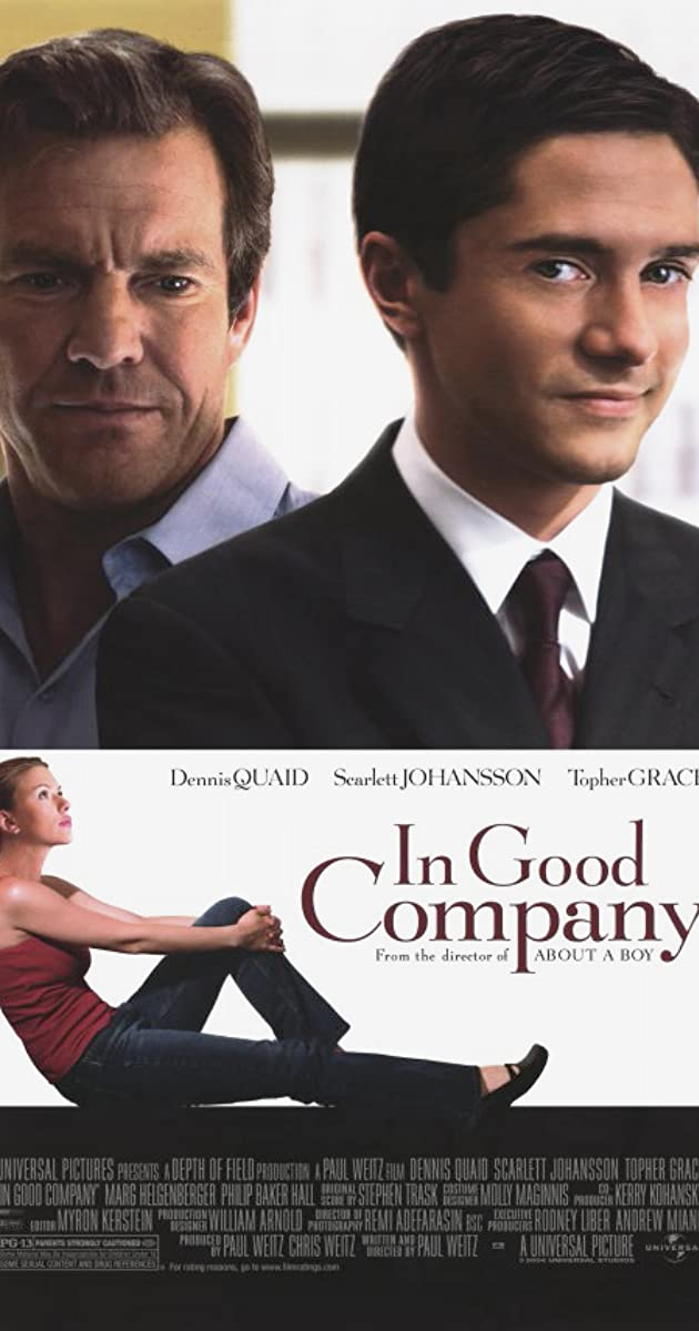 Gera kompanija / In Good Company (2004) Online