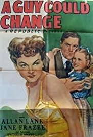 A Guy Could Change Poster