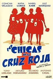 Red Cross Girls Poster