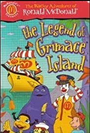 The Wacky Adventures of Ronald McDonald: The Legend of Grimace Island Poster