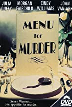 Primary image for Menu for Murder