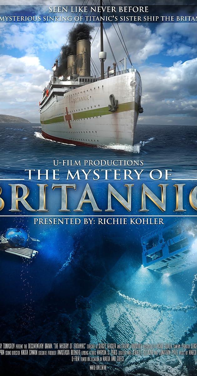 The Mystery Of Britannic TV MiniSeries IMDb - Cruise ship movie