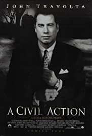 A Civil Action (1998) Poster - Movie Forum, Cast, Reviews