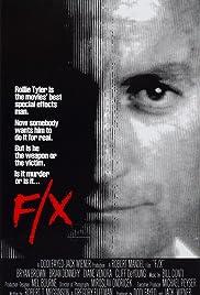 F/X(1986) Poster - Movie Forum, Cast, Reviews