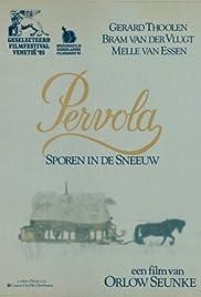 Pervola, sporen in de sneeuw Poster