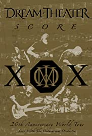 Dream Theater: Score - 20th Anniversary World Tour Live with the Octavarium Orchestra Poster