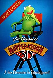 Muppet*vision 3-D (1991) Poster - Movie Forum, Cast, Reviews