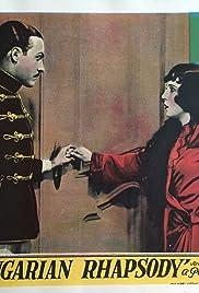 Ungarische Rhapsodie Poster