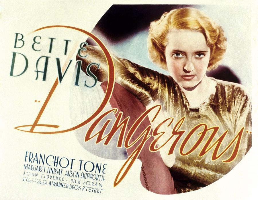 Resultado de imagem para dangerous 1935 poster