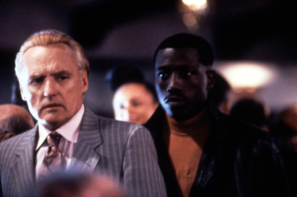 Dennis Hopper and Wesley Snipes in Boiling Point (1993)