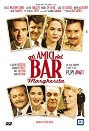 The Friends at the Margherita Cafe Poster