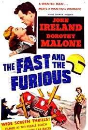 The Fast and the Furious (1955) Poster - Movie Forum, Cast, Reviews
