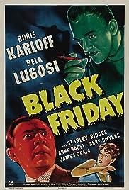 Black Friday(1940) Poster - Movie Forum, Cast, Reviews