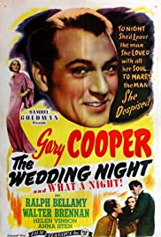 The Wedding Night (1935) Poster - Movie Forum, Cast, Reviews