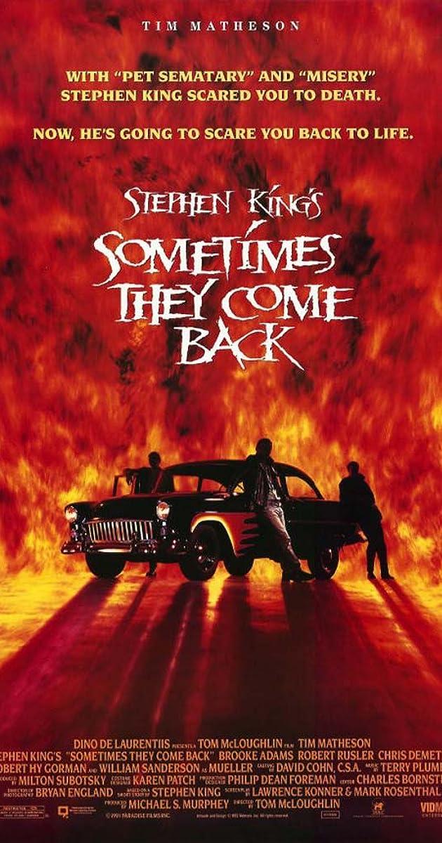 sometimes they come back tv movie 1991 imdb - Wie Man Ein Kingsizekopfteil Aus Einer Alten Tr Macht