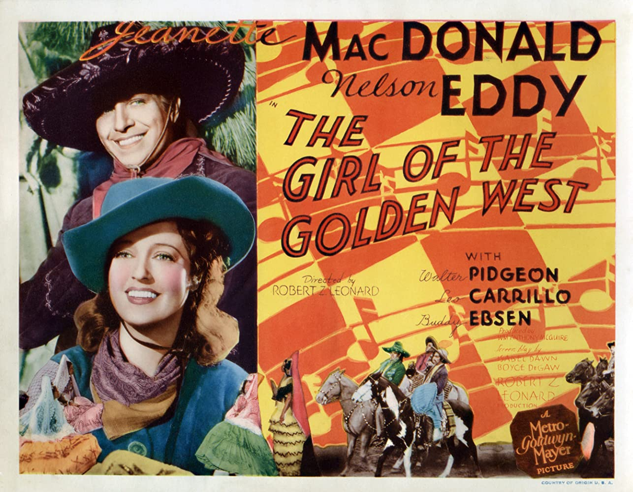 Image result for girl of the golden west 1938