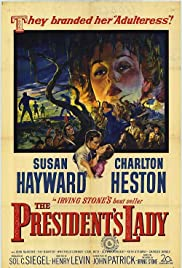 The President's Lady (1953) Poster - Movie Forum, Cast, Reviews