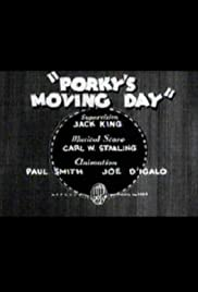 Porky's Moving Day Poster