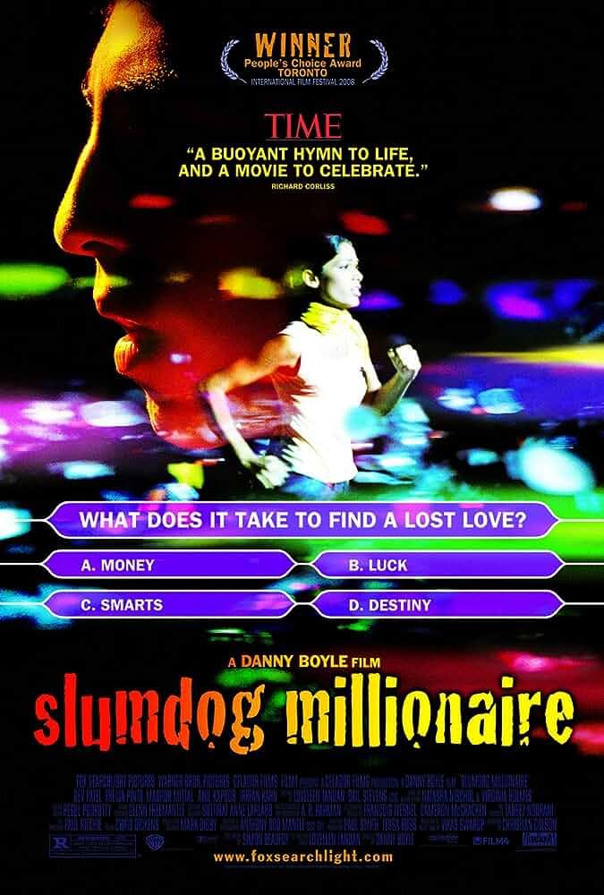 Slumdog Millionaire 2008 Hindi Dual Audio 720p HDRip full movie watch online freee download at movies365.org