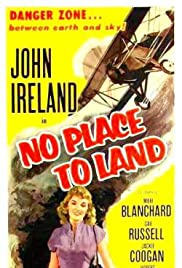 No Place to Land Poster