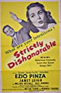Strictly Dishonorable (1951) Poster