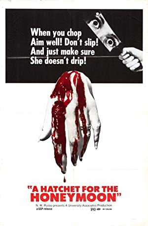A Hatchet for the Honeymoon poster