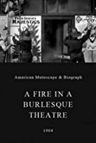 Image of A Fire in a Burlesque Theatre