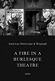 A Fire in a Burlesque Theatre Poster