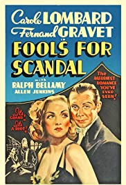 Fools for Scandal (1938) Poster - Movie Forum, Cast, Reviews