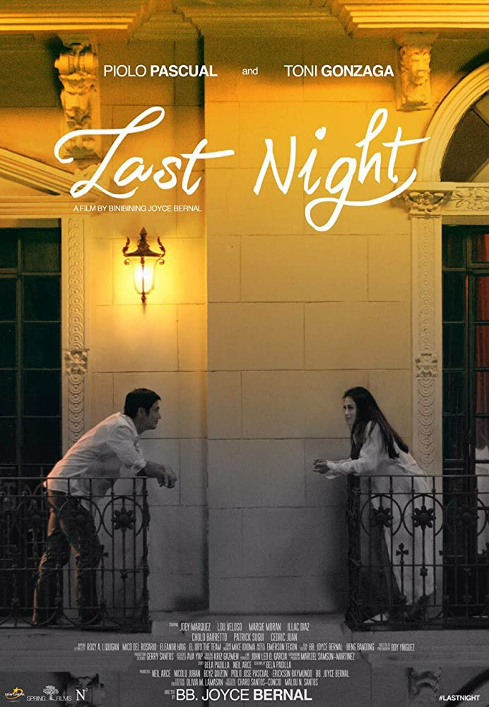 Last Night (2017) HDRip