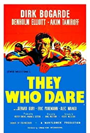 They Who Dare (1954) Poster - Movie Forum, Cast, Reviews