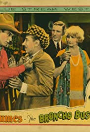 The Broncho Buster Poster
