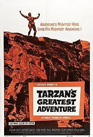 Tarzan's Greatest Adventure(1959) Poster - Movie Forum, Cast, Reviews