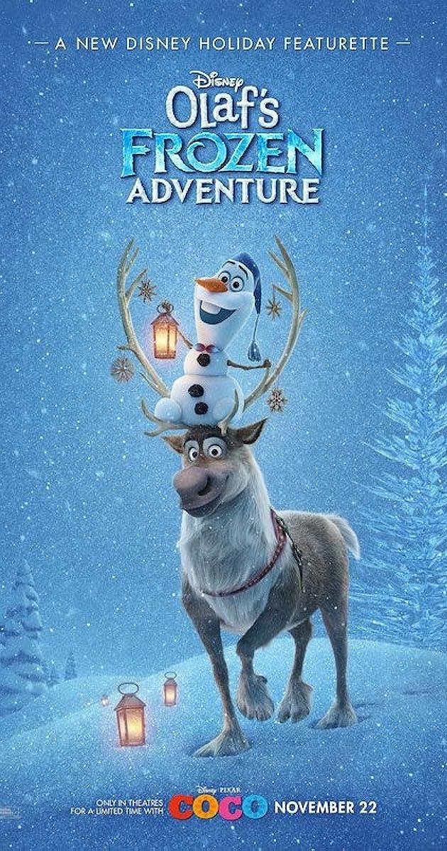 Olafo nuotykiai ledo šalyje
