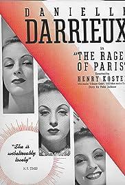 The Rage of Paris(1938) Poster - Movie Forum, Cast, Reviews