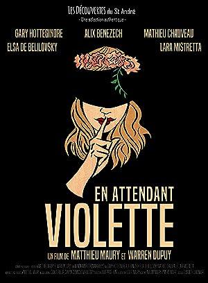 En attendant Violette Poster
