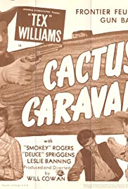 Cactus Caravan Poster