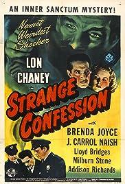 Strange Confession(1945) Poster - Movie Forum, Cast, Reviews