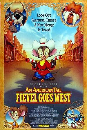 Poster Feivel, der Mauswanderer im wilden Westen