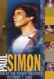 Paul Simon: Live at the Tower Theatre 1980 Poster
